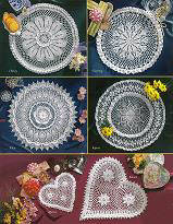 Crochet Our Favorite Doilies Designed by Delsie Rhoades