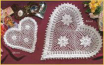 Crochet Affection & Beloved Our Favorite Doilies Designed by Delsie Rhoades