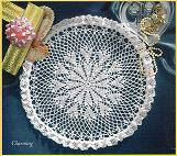 Crochet Charming Our Favorite Doilies Designed by Delsie Rhoades
